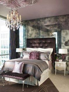 Yatak Odaları için Avize Modelleri