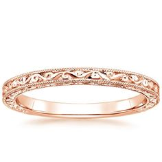 14K Rose Gold Hudson Ring from Brilliant Earth