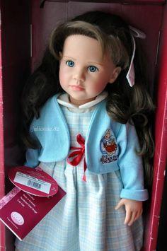 Brooke (Брук) Handcrafted doll от Gotz (коллекция Beatrix Potter) 2001 год / Коллекционные куклы (винил) / Шопик. Продать купить куклу / Бэйбики. Куклы фото. Одежда для кукол