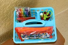 Smart and Simple Organizing: Kid's Homework Zone! Part: 2