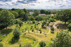 Schlosspark von #Schloss #Mitsuko in der Meckl. #Schweiz Foto: VOLOCAM #meckpomm #mecklenburg #kultur