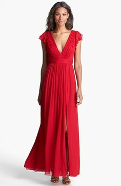 Jill Jill Stuart Silk Chiffon Dress available at #Nordstrom