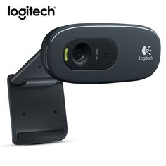 Logitech C270 Mini Webcam 720p Web Cam Usb Camera 3 Mega HD Video Webcamera for Smart tv pc Skype With MIC Micphone Original //Price: $35.36//     #storecharger