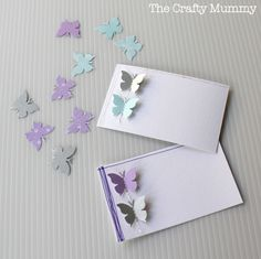 easy butterfly gift tags