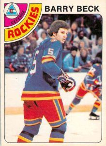 Highlights, stats and hockey card info for Barry Beck. Beck played in the NHL with the Colorado Rockies, New York Rangers and Los Angeles Kings. Hockey Cards, Baseball Cards, Mike Bossy, Los Angeles Kings, Colorado Rockies, New York Rangers, Trading Cards, Nhl