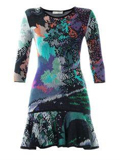 Mary Katrantzou Flick fauwinding-print dress