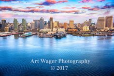 San Diego Skyline Fine Art Photograph by ArtWagerPhotos on Etsy