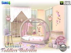 and for our toddlers here bedroom omali. sweet and cute toddlers bedroom