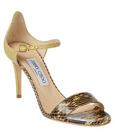 affordable cheap price latest collections cheap price Jimmy Choo Smooth Leather Sandals F0Bg5