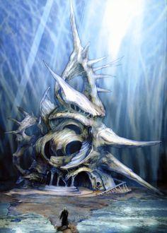 Final Fantasy VII: Advent Children Art & Pictures,  Forgotten City