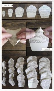 Passos flor de papel