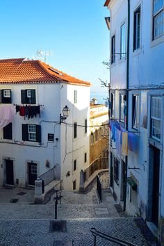 Alfama Neighborhood. Lisbon - Portugal.