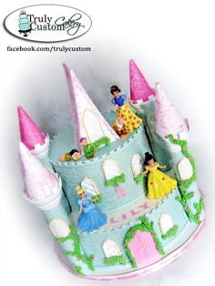 Stacey's Sweet Shop - Truly Custom Cakery, LLC: A cake fit for a Princess