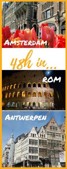 Wochenendreisen, Städtereisen - Tipps und Inspirationen für dein Wochenende #Städtereisen #Europa #Wochenendreisen