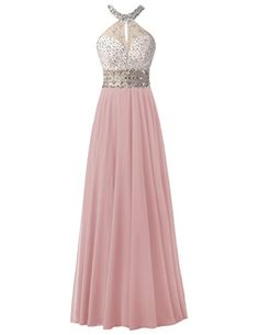 Dresstells® Long Chiffon Halter Neck Prom Dress With Bead... https://www.amazon.co.uk/dp/B01KNYNNOC/ref=cm_sw_r_pi_dp_x_I2Hyyb2QQ4PMP