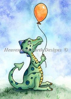 New baby ilustration card nursery art ideas Art Vampire, Vampire Knight, Cute Dragon Drawing, Puff The Magic Dragon, Dragon Illustration, Baby Illustration, Dragon Nursery, Victoria Art, Nursery Artwork