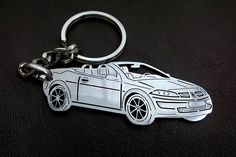 Renault Megane Personalized Key Chain, Renault Megane cabriolet keychain, Renault Megane, Stainless Steel Keyring, fathers day gift by EspecialCRAFTS on Etsy