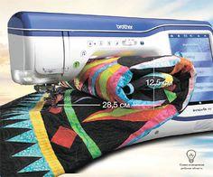 #шитье #вышивка #машинная_вышивка #швейная_машина #brother #рукоделие #творчество