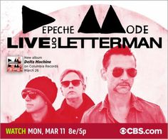 Depeche Mode Sets North American Dates For The Delta Machine World Tour