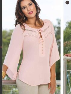 Blouse Styles, Blouse Designs, Hijab Fashion, Fashion Dresses, Casual Dresses, Casual Outfits, Blouse Outfit, Dress Patterns, Shirt Blouses