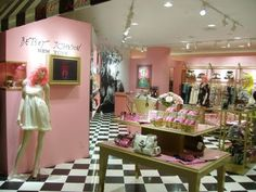 Betsey Johnson store. So girly and sweet!