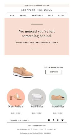 a4e0d1459c Loeffler Randall - Abandoned cart copy - email - Love a good success story?  Learn how I went from zero to 1 million in sales in 5 months with an  e-commerce ...