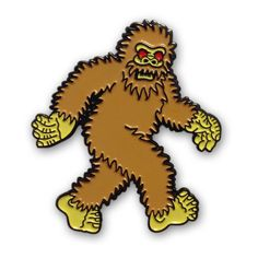 *PRE-ORDER* BIGFOOT Lapel Pin *SHIPS MAY 18*