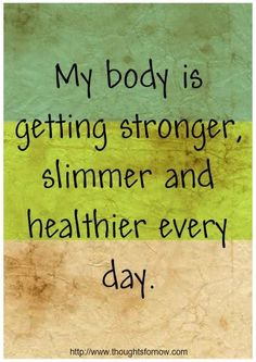 Affirmations for Losing Weight, Daily Affirmations