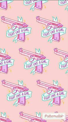 """""""Luta como uma garota"""""""