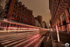 NYC Unplugged is a beautiful series of long exposure photographs by Randy Scott Slavin taken during the recent blackouts in New York City (due to Cool Pictures, Cool Photos, Rare Photos, Long Exposure Photos, Beautiful Series, All Of The Lights, Light Trails, Architectural Photographers, Nyc