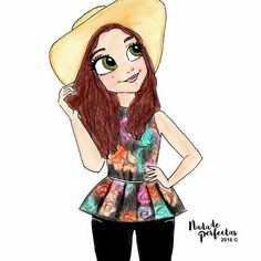 Girl with tumble hat Kawaii Drawings, Cartoon Drawings, Cute Drawings, Kawaii Girl, Kawaii Anime, Cute Girl Drawing, Dibujos Cute, Son Luna, Disney Channel
