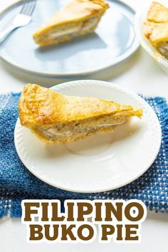 Buko Pie is a delicious Filipino dessert made with young coconut meat with a creamy filling, and a delicious buttery pastry crust. It's easy to make and perfect for snack! :)