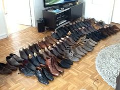 Ma collection de chaussures