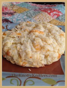 Yummy Flaky Cheddar Biscuit recipe!