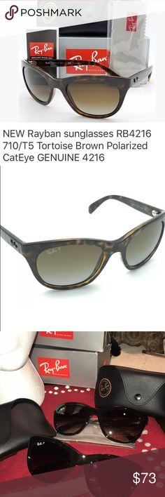 2f66b3ce31c7 Box may be a bit tattered Ray-Ban RB 4216 Highstreet Women s Sunglasses