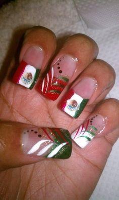 Mexico Nail Designs