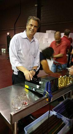 """Putting heat seals on the bottles"" Janssen pharmaceuticals team building through winemaking at Grape Finale Hands-On Winery. Team Building, Seals, Bottles, Hands, Wine, Seal, Harbor Seal"