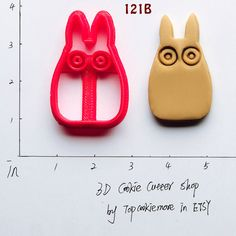 Totoro Cookie Cutter Totoro Party Totoro Birthday by TopCookieMore