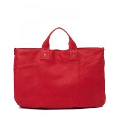 Clare Vivier red leather purse - from Steven Alan