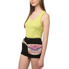 Ecoté Urban Outfitters Embroidered Woven Belt Bag Ecoté Urban Outfitters Embroidered Woven Belt Bag Adjustable Zipper closure NEW WITH TAGS! Urban Outfitters Bags
