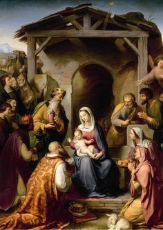 Christmas Jesus wijnoogst