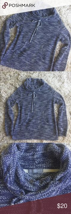 Stitch Fix Loveappella Drawstring Hoodie High demand item from Stitch Fix. Loveappella drawstring hoodie in navy & white. Size XS. Gently used condition. Loveappella Tops