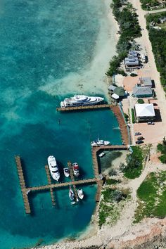Small Marina at Clarence Town, Long Island, Bahamas, FL