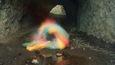 Photographer Documents Ghostly Spirits At L.A.'s Bronson Caves