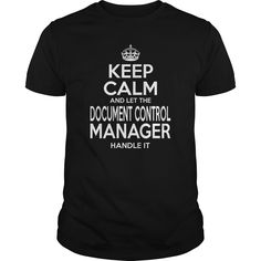 (Tshirt Deal Today) DOCUMENT CONTROL MANAGER KEEPCALM [Tshirt design] Hoodies, Funny Tee Shirts