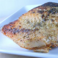 """Salmon with Dill I """"I loved this recipe. The salmon was incredibly moist and flavorful and only took 15min in the oven. Definitely should try this!"""""""
