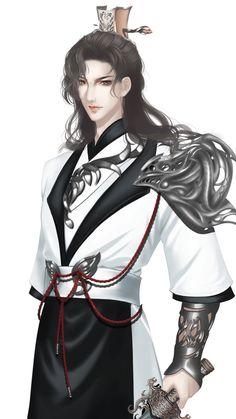 Black Brown Hair, Shadow Dragon, China Art, Fantasy Girl, Ancient Art, Art Girl, Asian Girl, Wattpad, Manga