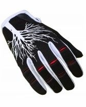 Gloves NoLeaf CAPITA 2.0  - black/Red best for cycling