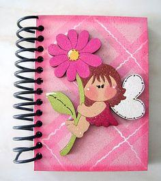 Cuaderno con foami - Imagui