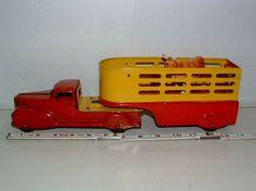 Toy 2, Toy Trucks, West Palm Beach, Diecast, Steel, Yellow, Red, Ebay, Activity Toys